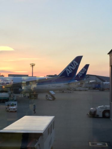 ANA 全日空 大阪国際空港 伊丹空港