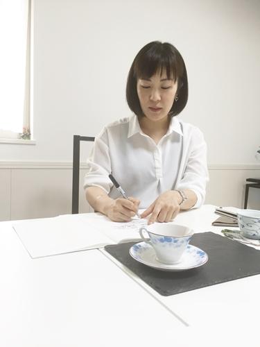 株式会社TIME and DESIGN代表水木ユキ様とgiftWrapping職人動画打ち合わせ