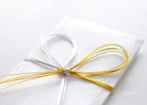祝儀包み折形礼法水引