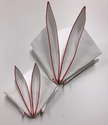 武家礼法折形・うさぎの粉包み
